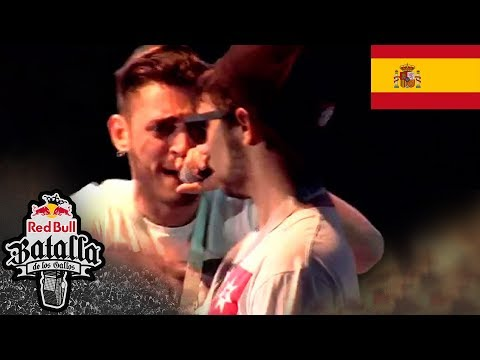 Blon vs Zasko - Final - Barcelona - Red Bull Batalla de los Gallos 2015 (Oficial)