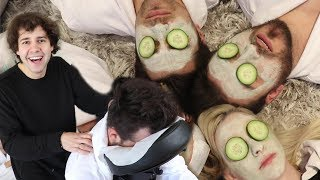 SURPRISING MY BEST FRIENDS WITH A SPA DAY!!