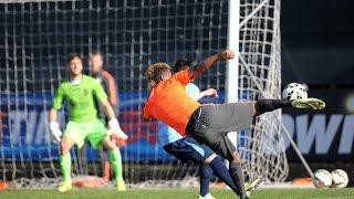 Vinovo, sei gol in allenamento contro il Chieri - Juventus hit Chieri for six