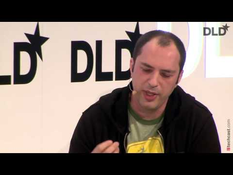 DLD14   What's Up WhatsApp  Jan Koum, David Rowan