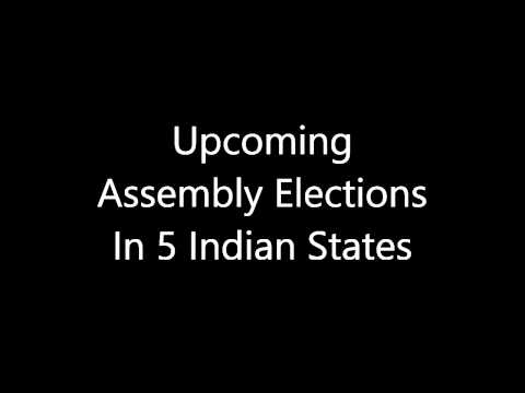 Upcoming Assembly Elections In 5 Indian States