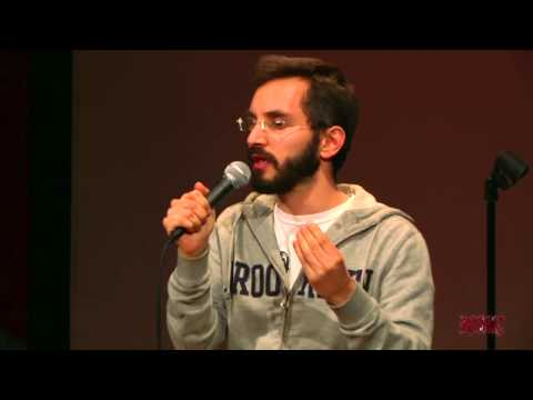 Myq Kaplan performs for RISK! at NYC PodFest - January 12, 2013 ...