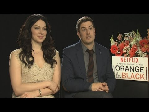 Orange Is The New Black: Jason Biggs and Laura Prepon want Oprah Winfrey on the show