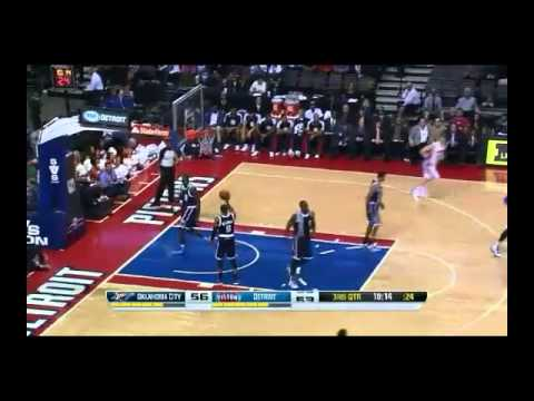 NBA CIRCLE - OKC Thunder Vs Detroit Pistons Highlights 8 Nov. 2013 www.nbacircle.com
