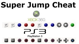 GTA 5 NEW Jump High Cheat + Invincibilty Cheat Code Xbox