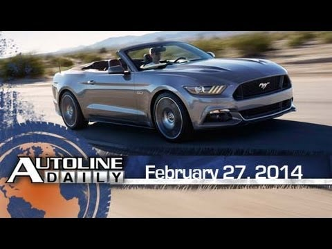 How Ford & Chevy Upgraded Their Drop-Top Halo Cars - Autoline Daily 13
