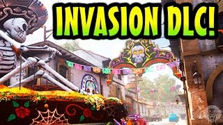 COD Ghosts: Invasion DLC 3! Pharaoh, Departed, Mutiny