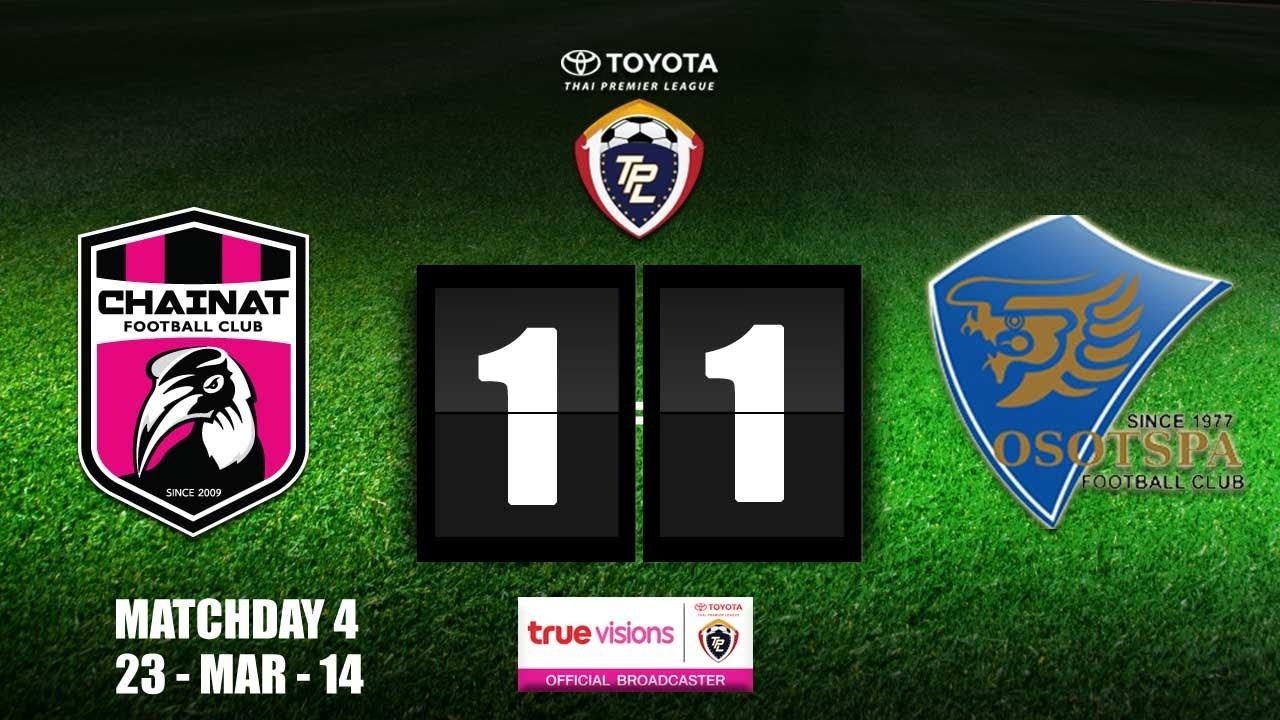 Chainat FC 1-1 Osotspa Saraburi FC