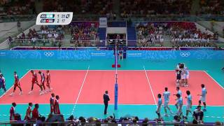 Cuba Vs Argentina Men's Volleyball Gold Medal Match