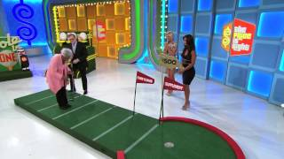 The Price Is Right Perfect Putt!