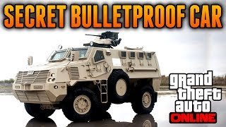 GTA 5 Online Secret Bulletproof Vehicle! Best Vehicle