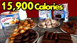 """The Sweetest Food Challenge in the History of Ever"" (Hostess Snack Challenge) 