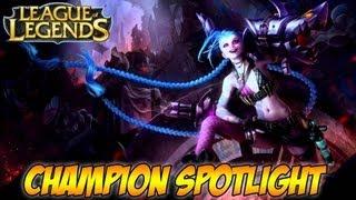 League Of Legends Gameplay Jinx Champion Spotlight