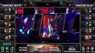 Samsung White Vs Samsung Blue Game 2 Semi Finals S4