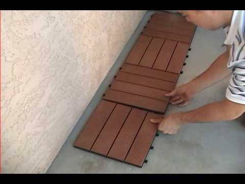 Decks Wood Deck Tiles