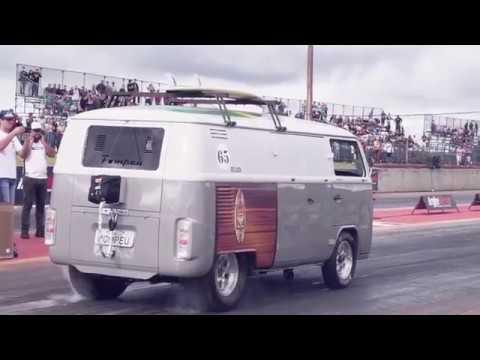 Kombi V8 com Blower - Um carro um tanto quão diferente na arrancada não é mesmo?