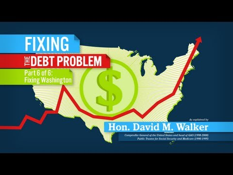 Fixing the Debt Problem: Fixing Washington