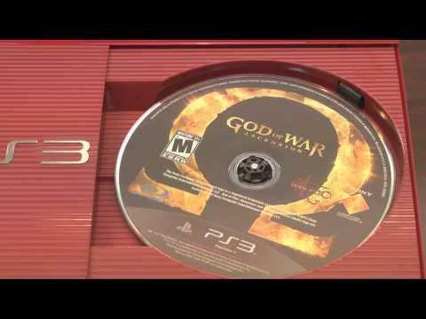 Classic Game Room - GOD OF WAR LEGACY BUNDLE RED PLAYSTATION 3 console review