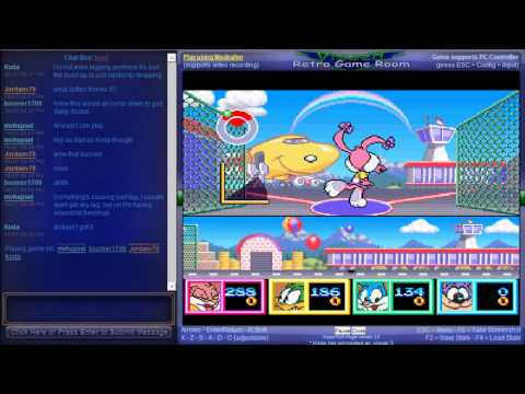 Tiny Toon Adventures - Wacky Sports Challenge - Vizzed Netplay Summer Tournament - Final - Tiny Toon Adventures - Team Kogarasumaru VS Team ShyGuys - User video
