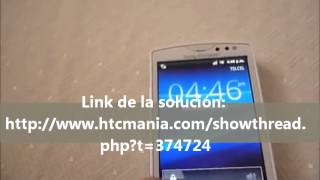 Solución Falla Sony Ericsson Xperia ST15a
