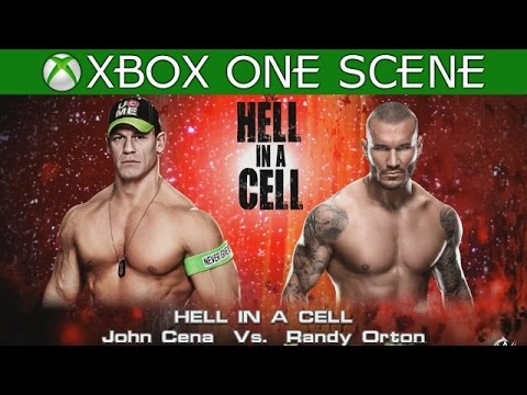 WWE 2K15 XBOX ONE GAMEPLAY - John Cena vs Randy Orton - Hell in a Cell 2014