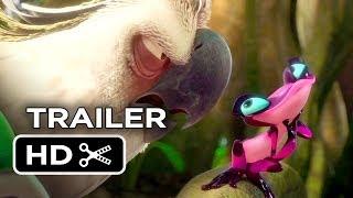 Rio 2 Official Trailer #2 (2014) Jamie Foxx, Jesse