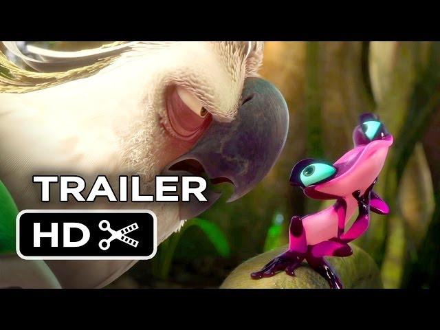 Rio 2 Official Trailer #2 (2014) - Jamie Foxx, Jesse Eisenberg Animated Sequel HD