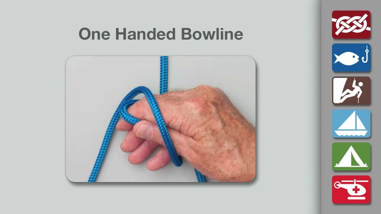 One Handed Bowline Knot