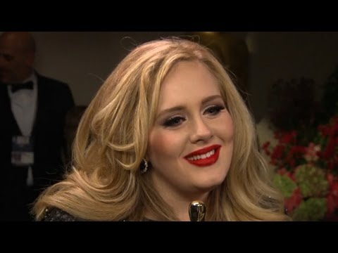 Adele Interview at Oscars: Life 'Could Have Been Grim ... and It's Not' - Academy Awards 2013