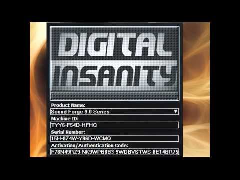 Digital Insanity Sound Forge keygen(Keygen_Music)