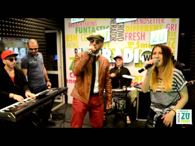 CRBL feat. ADDA & RAKU - Usor usor (Live la Radio ZU)