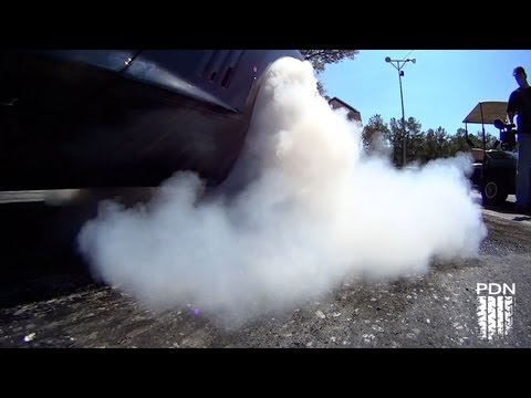 More Slow Motion Burnouts - SAM Racing
