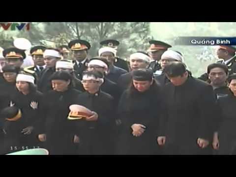 VIDEO Le an tang Dai tuong Vo Nguyen Giap   XEM Clip An tang