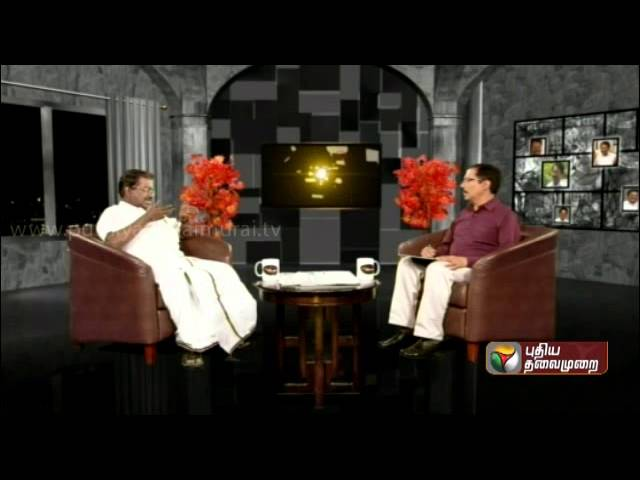 T. K. S. Elangovan Exclusive In Puthiya Thalaimurai - Agni Paritchai (30/03/2014) - Part 3