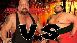 WWE '12: One On One Match Yokozuna Vs Big Show (GIANT VS