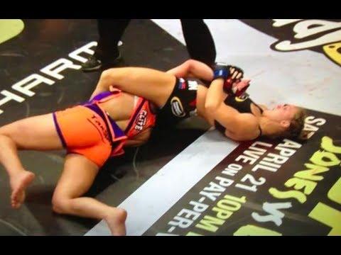 Ronda Rousey Breaks Miesha Tate's Arm - Viewer Discretion Advised (Gracie Breakdown)