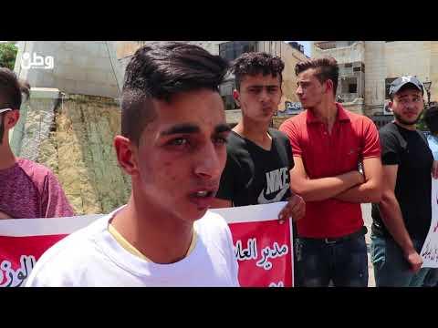 الشاب شديد يعتصم في رام الله للمطالبة بتطبيق قرار الرئيس بعلاجه