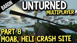 Unturned Military Loot, MOAB Incident, And Helicopter