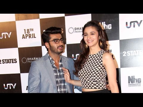 Arjun makes fun of Alia Bhatt | 2 States Movie | Bollywood News Today