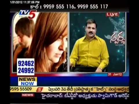 TV5 - Sparsha vatsayana Mantra answers to Sex Problems 31-01-2012 part 1
