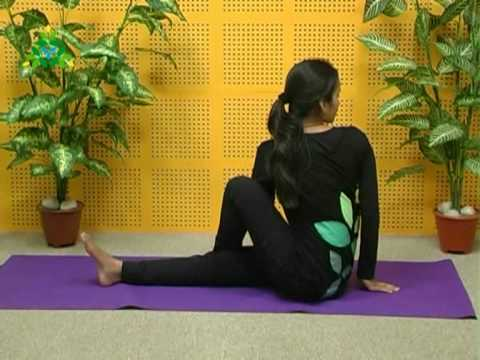 Improve digestion with Dynamic Spinal Twist