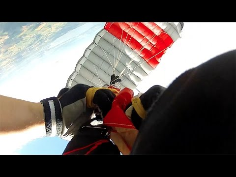 Friday Freakout: Skydiver's Hands Get Stuck In Line Twists!