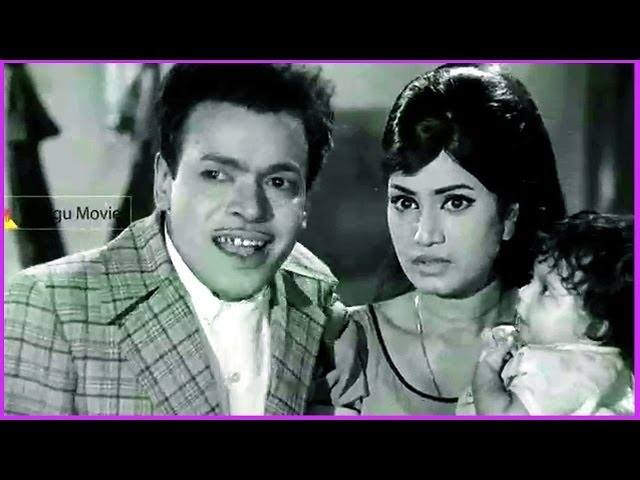 Rajababu & Rama Prabha Comedy Scene - In Puttinillu Mettinillu Telugu Movie