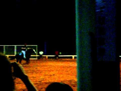 CAVALO QUARTO DE MILHA (GAVIAO) CORRENDO EM 3 TAMBORES EM 21/ 11/ 2009 EM FORTALEZA PARTE .2