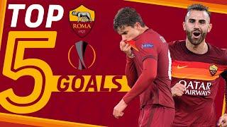 TOP 5️⃣ GOALS IN EUROPA LEAGUE SO FAR | Season 2020-21
