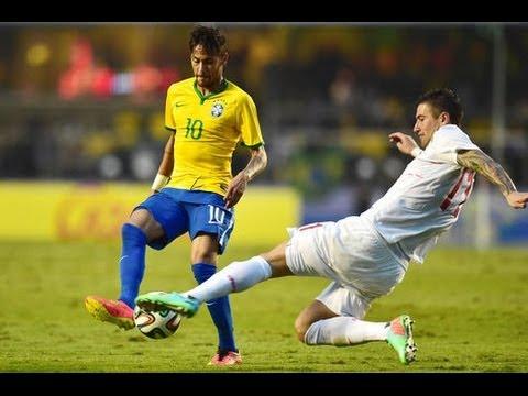 #RumboAlMundialDeBrasil : Brasil 1 - 0 Serbia l Gol l Amistoso Internacional l 6.6.2014
