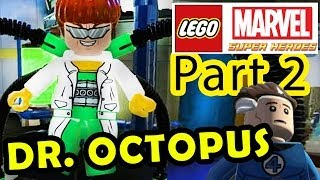 Lego Marvel Super Heroes Pt. 2 (Dr. Octopus) Time Square