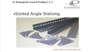 [Slotted Angle Shelving, Boltless Shelving,Heavy Duty Pallet ...] Video