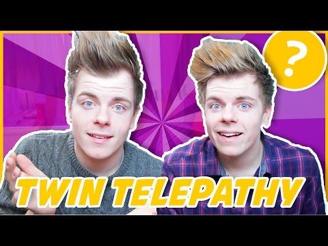 PSYCHIC TWIN TELEPATHY TEST | NikiNSammy