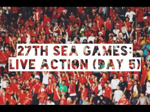 27th SEA Games: Daily action (Day 5)